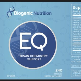 EQ Biogenic Nutrition Label